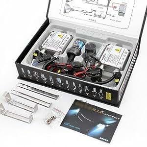 HID Xenon Ballast Kit 2 Lampen Set H7-55W-6000K 12V New Top!