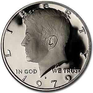 Type II Half Dollar About Uncirculated 1979 S Kennedy Half Dollar Gem Proof