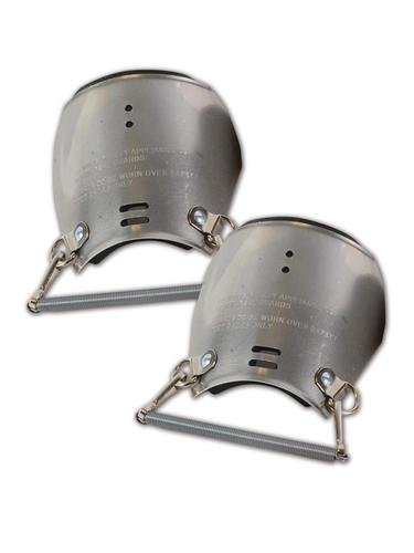 Ellwood Safety 801 12'' Aluminum Alloy Foot Guards by Ellwood Safety