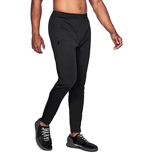 Under Armour Men's Sportstyle Pique Pants , Black (002)/Black, Large ()