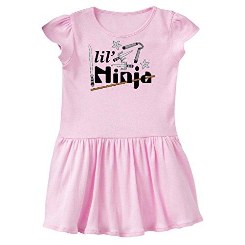 inktastic - Lil' Ninja Infant Dress 12 Months Pink 2a4d5 -