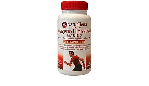 Colágeno Hidrolizado + Magnesio Naturtierra 90 Comprimidos de Ynsadiet: Amazon.es: Salud y cuidado personal