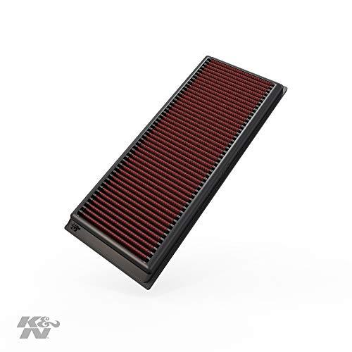K&N 33-2865 Filtro de Aire Coche, Lavable y Reutilizable