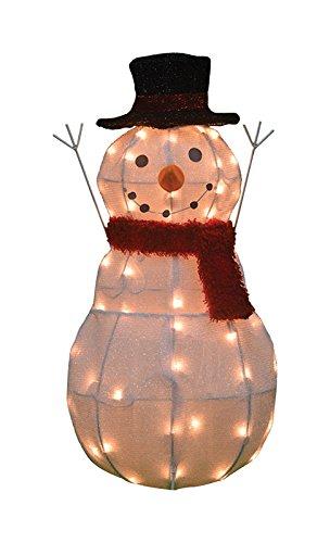 Snowman Pre-Lit 28''H