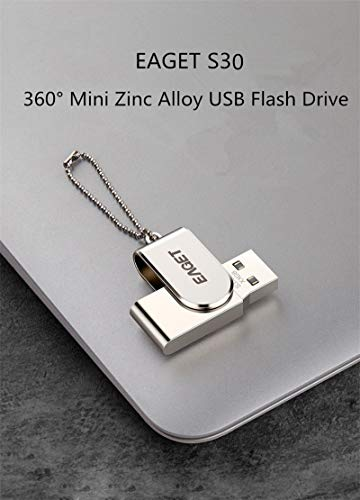 Eaget S30 USB 3.0 Flash Drive USB Pen Drive Metal Mini Pendrive USB Key Flash Memory Stick (64GB) by Eaget (Image #4)