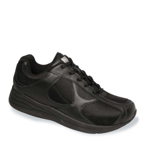 Drew Leather Shoe Black Men's Nubuck Surge Mesh rFx70SFqw