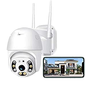 Flashandfocus.com 41cPlsfXMkL._SS300_ Security Camera Outdoor,Iposter 1080P HD WiFi Home Security Camera System,Wireless Security Camera with 360° View,AI…