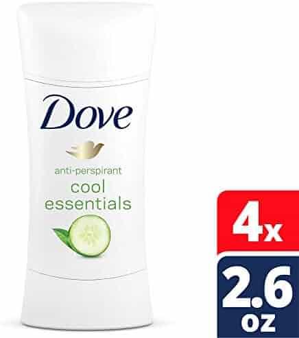 Dove Advanced Care Cool Essentials Antiperspirant Deodorant 2.6 Ounce (Pack of 4)