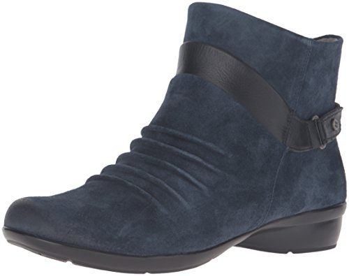 navy blue ankle boots - 3
