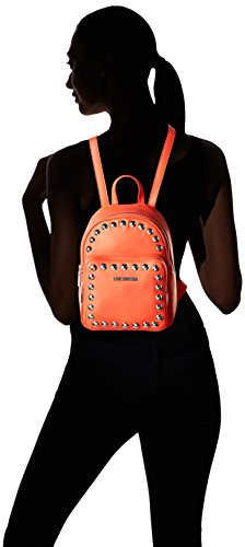 Love Moschino Moschino - Borse a zainetto Donna, Orange, 9x28x23 cm (B x H T)