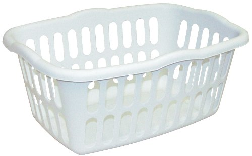 Sterilite Rectangular Laundry Basket White