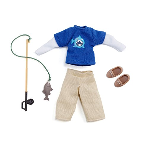 Doll Outfit By Lottie Lt062 Gone Fishing Clothing Set   Dolls   Clothes   Accessories   Toy Sets   Collectible   Inspired By Real Kids