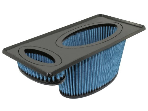 aFe Power 30-80202 MagnumFLOW OE Replacement PRO 5R Air Filter; Polyurethane Frame; Washable And Reusable; Bump Seal Design; Rounded Open Pleats;