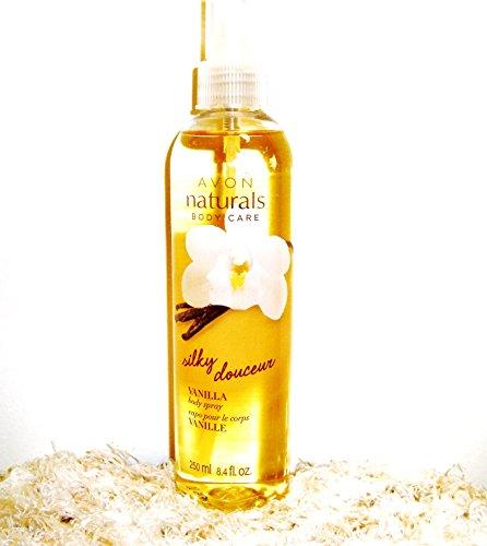Naturals Silky Vanilla Body Spray, 8.4 fl. oz.