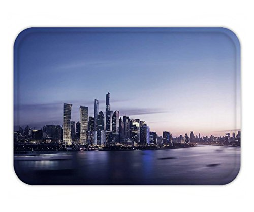 Beshowere Doormat night view of pudong shanghai china (Pudong Shanghai China)