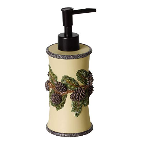 SKL Home by Saturday Knight Ltd. Pinehaven Lotion/Soap Dispenser, Natural