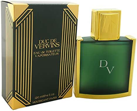 DUC DE VERVINS by Houbigant For men EDT SPRAY 4 OZ