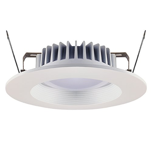 GetInLight 6 Inch 15W Dimmable LED Recessed Lighting Fixture, White Finish, 3000K Soft White, 80W Replacement, ETL Wet Location Listed, IN-0304-3 - Recessed Lighting Wet Location