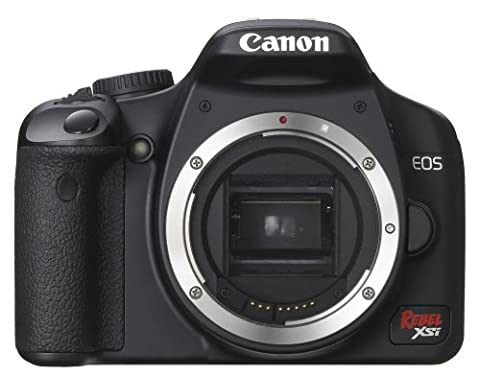 Canon Digital Rebel XSi 12.2 MP Digital SLR Camera (Black Body Only) (Digital Rebel Body)