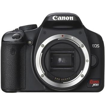 Canon Digital Rebel XSi 12 2 MP Digital SLR Camera (Black Body Only)