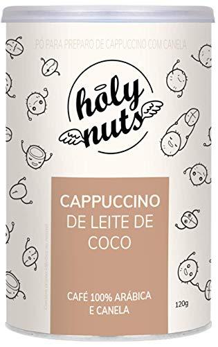 Cappuccino Vegano Com Leite De Coco Holy Nuts 120G, Holy Nuts, 120G