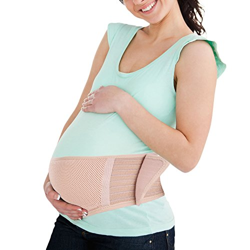 Maternity Belly Band (Maternity Belt Breathable Belly Band Abdominal Binder Lower Back Pelvic Support Comfort Pregnancy)