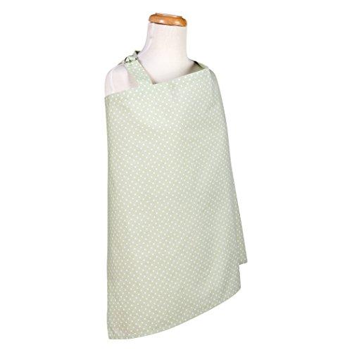 Trend Lab Sea Foam Dot Nursing Cover, Sage