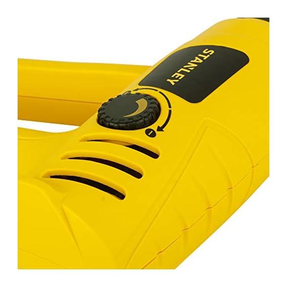 STANLEY STXH2000 2000W Variable Speed Heat Gun (Yellow and Black) 4