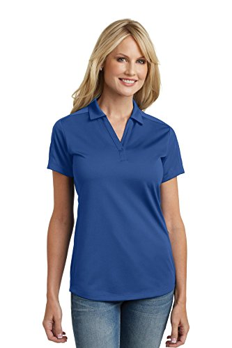 Polo Diamond Jacquard - Port Authority L569 Women's Diamond Jacquard Polo True Blue XL