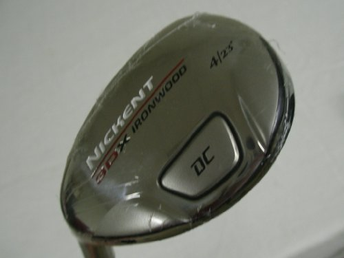 Nickent 3DX DC Ironwood (Left-Handed, #4-23 degree with uniflex steel Nippon 950 GH shaft )