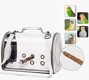 Bolsa de Transporte para pájaros, Jaula Transparente de PVC, Bolsa ...
