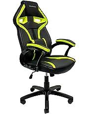 Cadeira Gamer MX1 Giratória Preto e Verde, Mymax, 25.009041