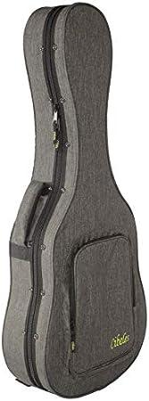 Estuche Guitarra Clásica Superior CIBELES, Foam, (Gris Antracita - Forro Rojo): Amazon.es: Instrumentos musicales