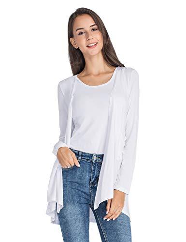 Yostylish Womens Loose Casual Sweater Tops Long Sleeve Warm Cardigans