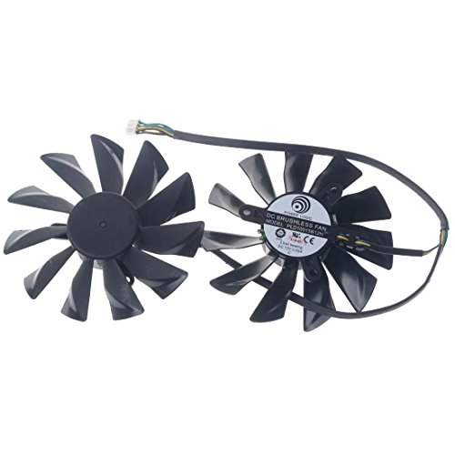 PLD10015B12H 95mm DC12V 0.55A 42mm 4Pin Replacement Graphics Video Card PC Cooling Dual Fan by Allpartz (Image #1)