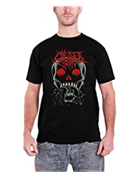 Chelsea Grin Skull Bite logo Official Mens New Black T Shirt