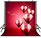 DULUDA Valentine's Day Theme 10' x 10' CP Backdrop Computer Printed Scenic Background Backdrop TVD18D