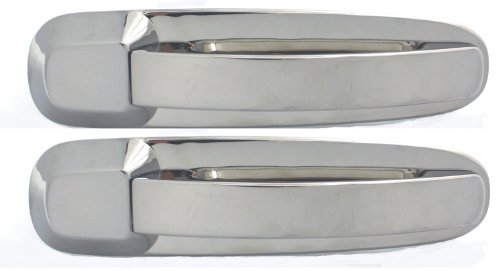 All Sales 402 Polished Billet Aluminum Rear Door Handle and Bucket (Billet Door Bucket)