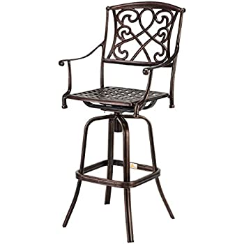 Amazon Com Palm Springs Copper Wrought Iron Effect