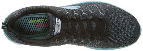 Skechers 12224 - Zapatillas para mujer Negro (Bklb)