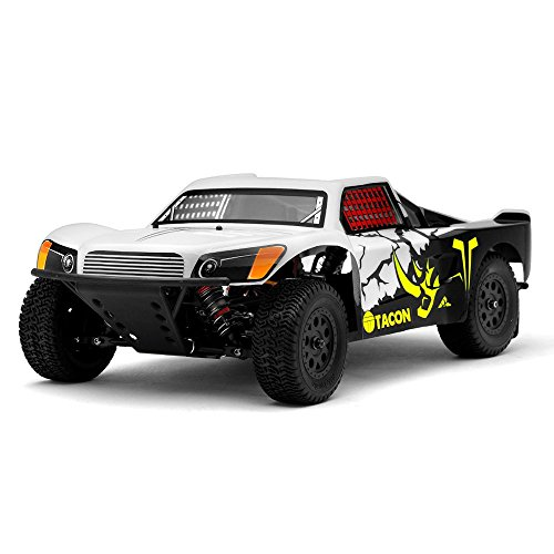 1/14th Tacon Thriller Short Course Truck RC Brushless Ready to Run (White) by tacon