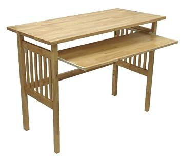 Amazoncom Winsome Wood Foldable Desk Natural Kitchen Dining