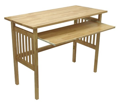 Winsome Wood Foldable Desk, Natural (Style Mission Desk Writing)