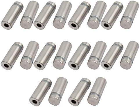 CHENBIN-BB 12mmx32mmステンレススチールガラススタンドオフピンがマウントボルト20枚を固定宣伝します