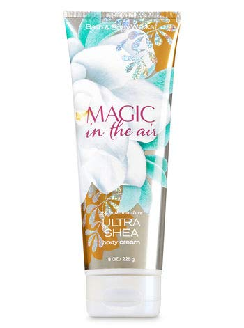 Bath and Body Works Magic In The Air Cream Lotion 8 Ounce Full Size (Vanilla Berry Sorbet Bath And Body Works)