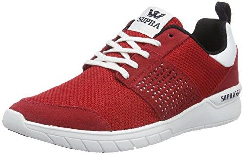 Supra Scissor - Zapatillas Hombre Rojo - Rot (RED / BLACK - WHITE 604)