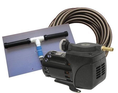 EasyPro PA10 1/20 HP Diaphragm Air Compressor Kit with Po...