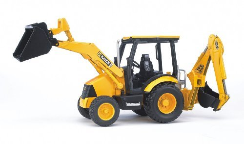 Bruder 02427 JCB Midi CX Loader Backhoe