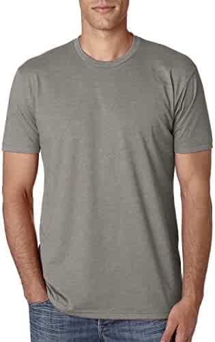 Next Level mens Next Level Premium CVC Crew(N6210)-STONE GRAY-L