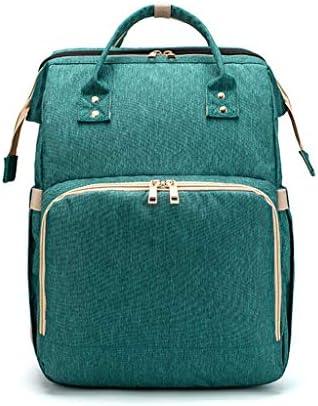 Kinmy 2 IN 1折りたたみベビーベッドバックパック多機能大容量おむつバッグ